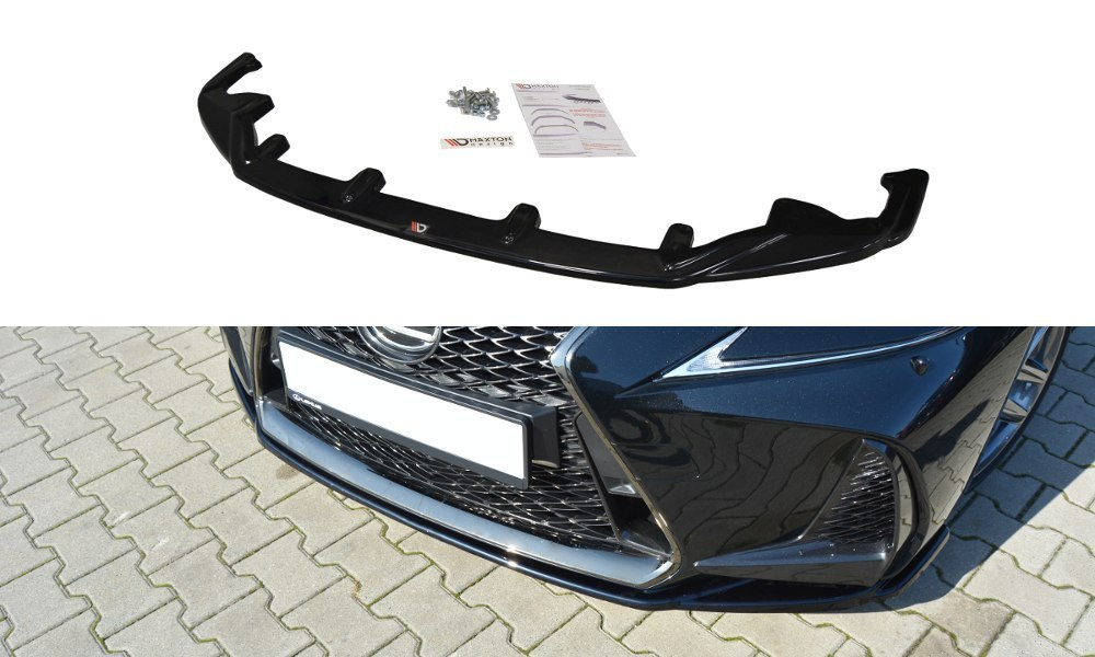 Splitter Przedni Lexus IS Mk3 Facelift F-Sport V.1 - GRUBYGARAGE - Sklep Tuningowy